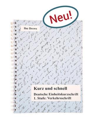 Buch Kurz und Schnell Stenografie